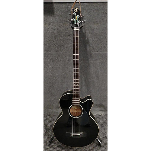 Greg Bennett Design by Samick AB-2/BK Acoustic Bass Guitar-thumbnail