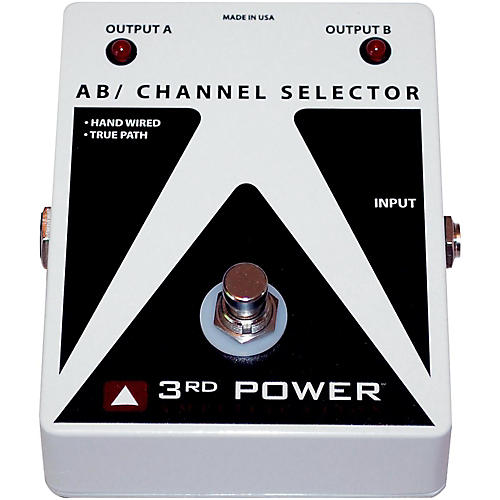 3rd Power Amps AB Box Hand Wired Guitar Footswitch-thumbnail
