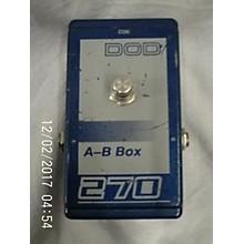DOD AB Box Pedal