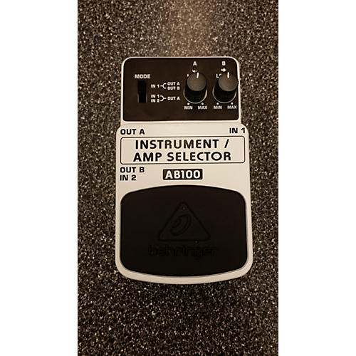 Behringer AB100 Footswitch-thumbnail