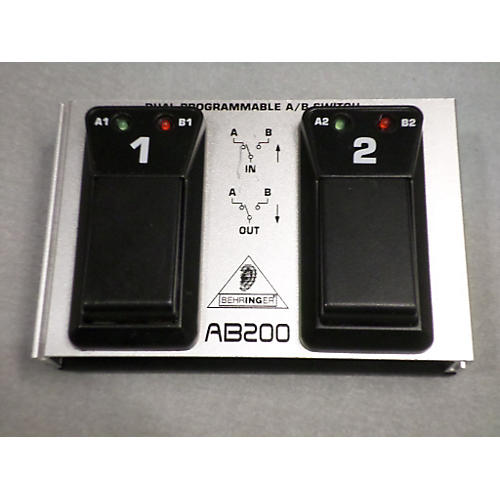 Behringer AB200 Dual AB Footswitch-thumbnail