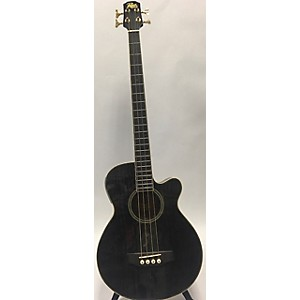 Pre-owned Rogue AB304-TBK Acoustic Bass Guitar