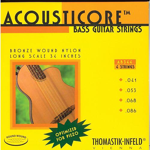 Thomastik AB344 Acousticore Phosphor Bronze 4-String Bass Strings-thumbnail