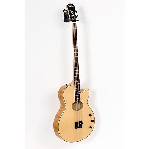 Washburn AB40SH Stu Hamm Acoustic-Electric Bass Natural 888365060125
