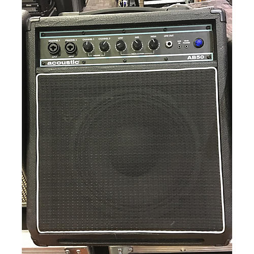 Acoustic AB50 50W 1X10 Bass Combo Amp-thumbnail
