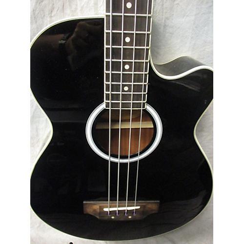 Washburn AB5BK Acoustic Bass Guitar-thumbnail