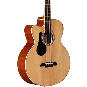 Alvarez AB60LCE Left Handed Acoustic-Electric Bass Guitar