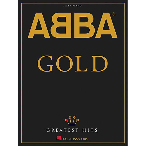 Hal Leonard ABBA - Gold Greatest Hits For Easy Piano-thumbnail