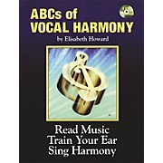 Alfred ABCs Of Vocal Harmony Book and 4 CDs