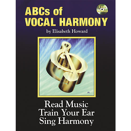 Alfred ABCs Of Vocal Harmony Book and 4 CDs-thumbnail