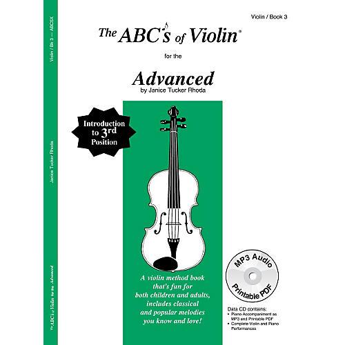 Carl Fischer ABCs of Violin - Advanced (Book + CD)-thumbnail