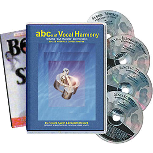 Born to Sing ABCs of Vocal Harmony (4 CDs/Book)-thumbnail