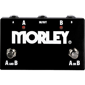 Click here to buy Morley ABY Channel Switcher by Morley.