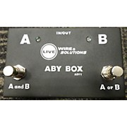 Live Wire Solutions ABY1 ABY Switcher Pedal