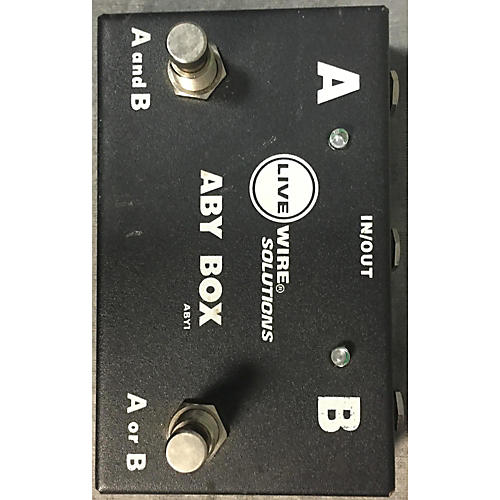 Livewire ABY1 Switcher Pedal-thumbnail