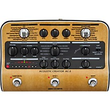 Zoom AC-3 Acoustic Creator Acoustic Multi-Effects Pedal Level 1