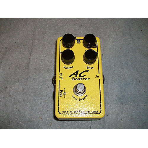 Xotic AC Booster Overdrive Effect Pedal-thumbnail