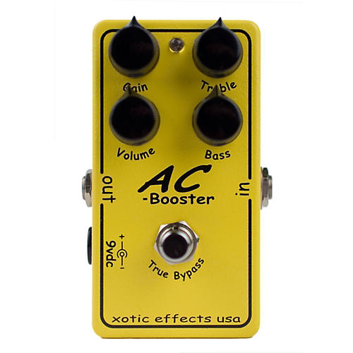 Xotic AC Booster Overdrive Guitar Effects Pedal-thumbnail