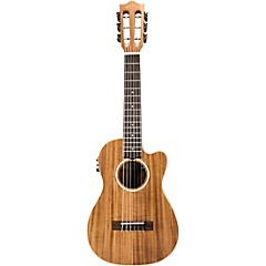 AC-CEG Acacia Guitelele with Kula Preamp A/E Ukulele Natural