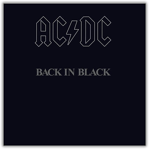Sony AC/DC - Back in Black Vinyl LP