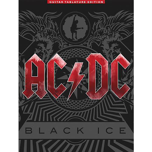 Music Sales AC/DC - Black Ice Guitar Tab Songbook