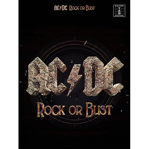 Music Sales AC/DC - Rock or Bust Guitar Tab Songbook