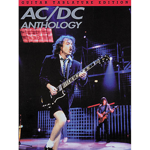 Hal Leonard AC/DC Anthology Guitar Tab Book-thumbnail