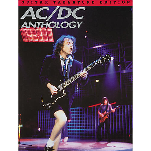 Music Sales AC/DC Anthology Guitar Tab Songbook