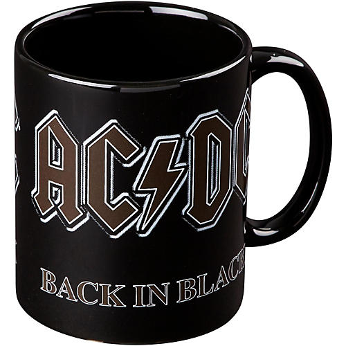 ROCK OFF AC/DC Back In Black Mug