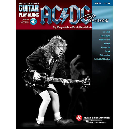 Hal Leonard AC/DC Classics - Guitar Play-Along Volume 119 (Book/Online Audio)-thumbnail