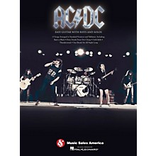 Music Sales AC/DC Easy Guitar TAB with Riffs And Solos