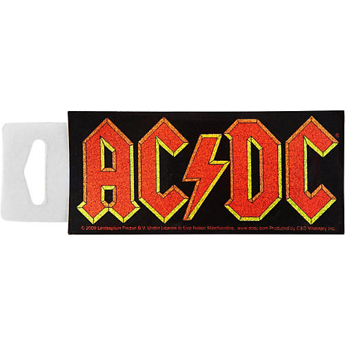 C&D Visionary AC/DC Glitter Sticker-thumbnail