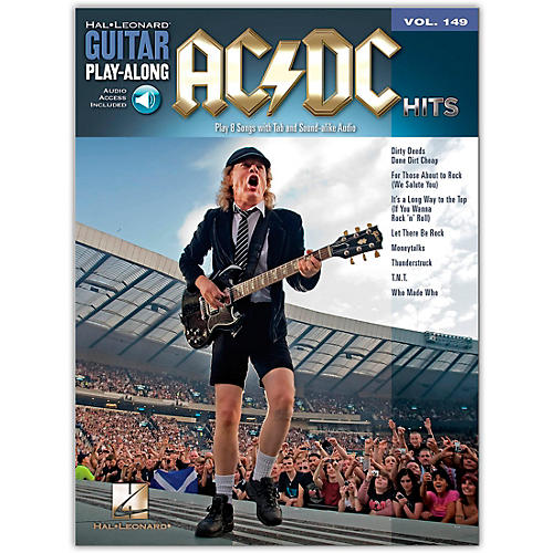 Music Sales AC/DC Hits Guitar Play-Along Volume 149 Book/Online Audio-thumbnail