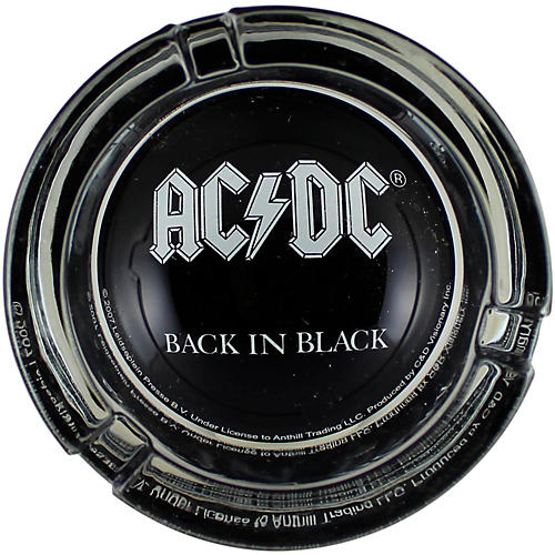 C&D Visionary AC/DC Logo Glass Ashtray