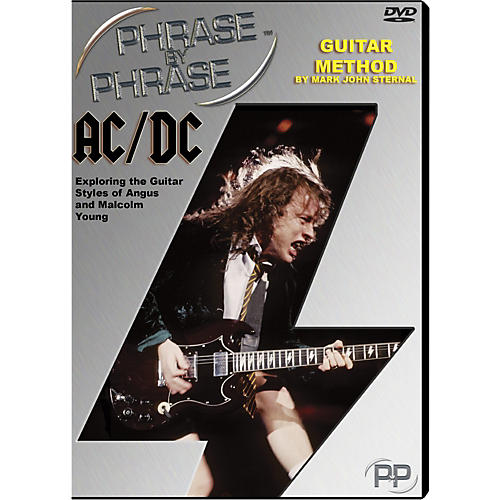 MJS Music Publications AC/DC: Phrase by Phrase Guitar Method DVD