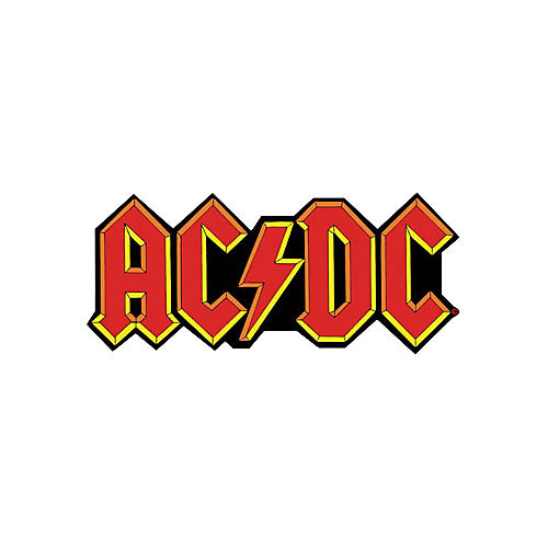 Gear One AC/DC RED LOGO PATCH