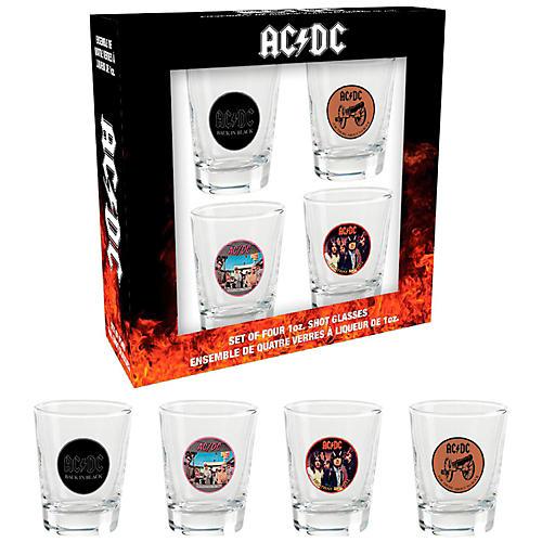 Hal Leonard AC/DC Shotglasses (Set of 4)-thumbnail