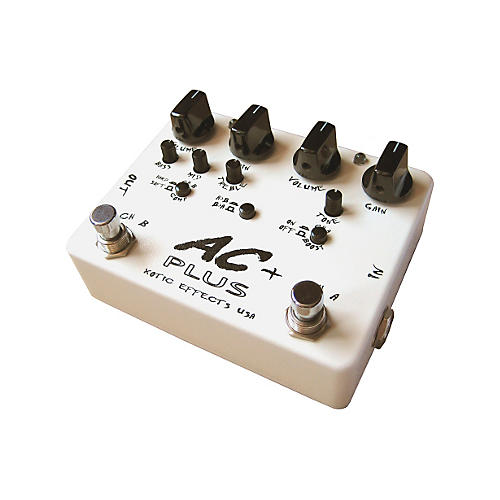 Xotic AC Plus 2-Channel Overdrive Guitar Effects Pedal-thumbnail