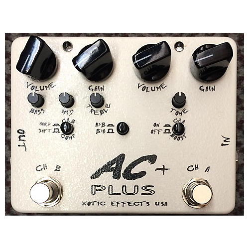 Xotic AC Plus Overdrive Effect Pedal-thumbnail