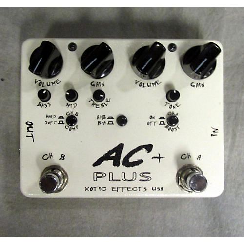 Xotic AC Plus Overdrive Effect Pedal
