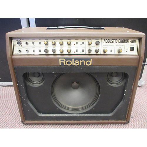 Roland AC100 Acoustic Guitar Combo Amp-thumbnail