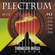 Thomastik AC112 Plectrum Bronze Acoustic Strings Medium Light