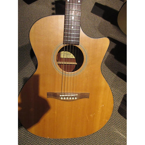 Eastman AC122CE Natural Acoustic Electric Guitar