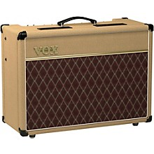 Vox AC15 15W 1x12 Limited Edition Tan Tube Guitar Combo Amp Tan