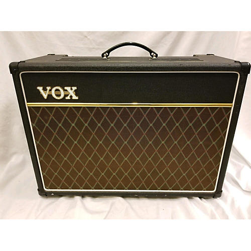used vox ac15c1 15w valve tube guitar combo amp guitar center. Black Bedroom Furniture Sets. Home Design Ideas