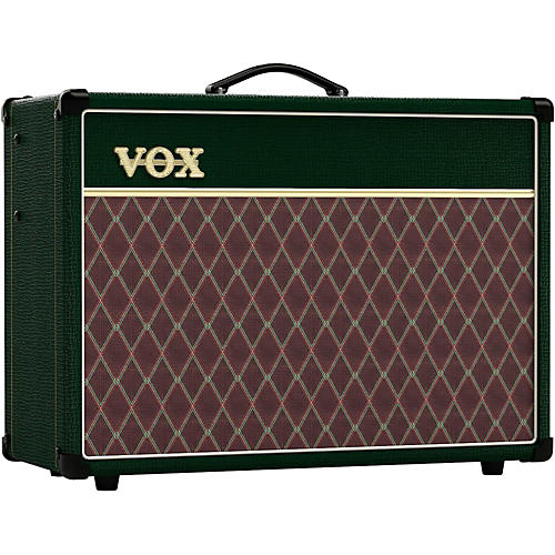 Vox AC15C1 Classic Limited Edition 15W 1x12 Tube Guitar Combo Amp British Racing Green