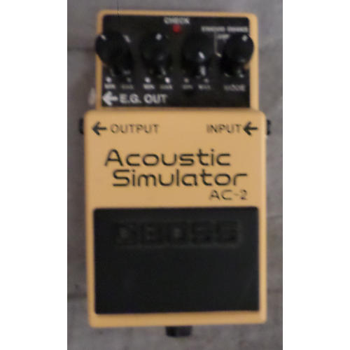 Boss AC2 Acoustic Simulator Effect Pedal-thumbnail