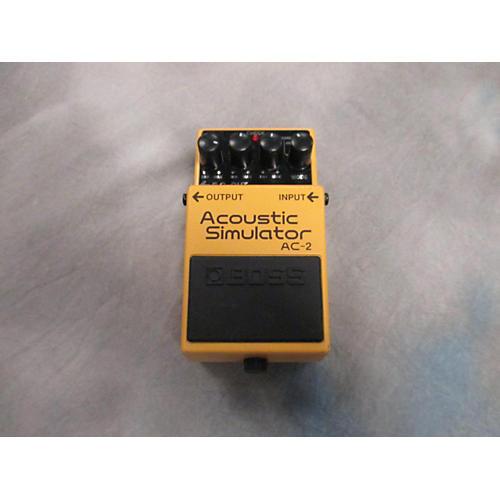 Boss AC2 Acoustic Simulator Effect Pedal-thumbnail