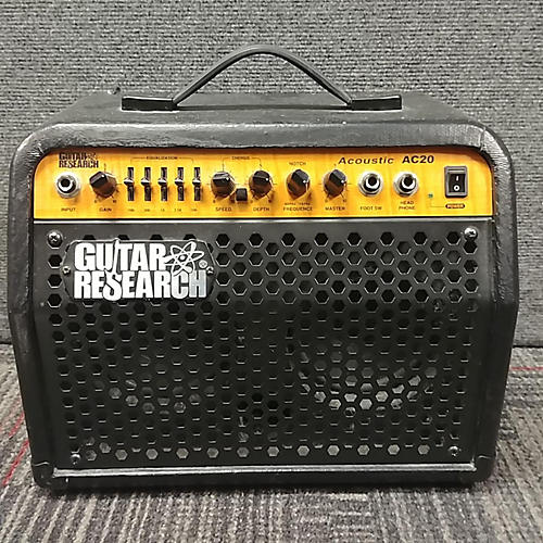 used schecter guitar research ac20 acoustic guitar combo amp guitar center. Black Bedroom Furniture Sets. Home Design Ideas