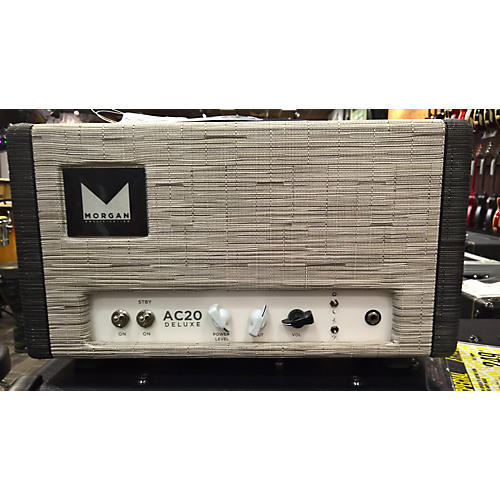 Morgan Amplification AC20 DELUXE Tube Guitar Amp Head-thumbnail